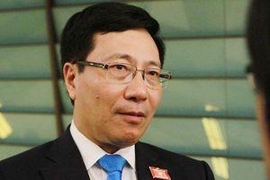 Phó Thủ tướng Phạm Bình Minh thông tin vụ 39 người tử vong trong container tại Anh