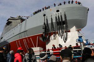 Nga trình làng tàu phá băng được coi là 'át chủ bài' trong cuộc đấu ở Bắc Cực