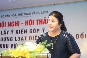 Bà Nguyễn Thị Thu Hà mất chức quyền Cục trưởng Cục Điện ảnh