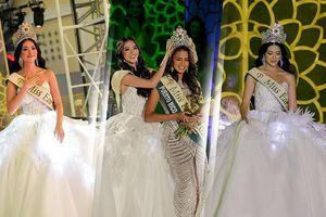 Diện váy phát sáng cầu kỳ, Phương Khánh có màn trao vương miện đẹp 'nhất nhì' Miss Earth