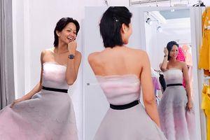 Hoa hậu H'Hen Niê để mặt mộc đi thử đồ cực xinh yêu nhưng lý do diễn show mới gây cảm động