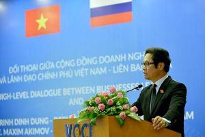 Đẩy mạnh hợp tác doanh nghiệp Việt Nam - Liên bang Nga
