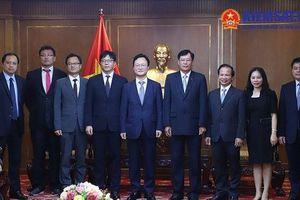 Phó Viện trưởng VKSND tối cao tiếp Đoàn đại biểu Viện Công tố Hàn Quốc