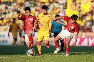 Toàn cảnh Thanh Hóa đánh bại Phố Hiến, đoạt vé dự V-League 2020