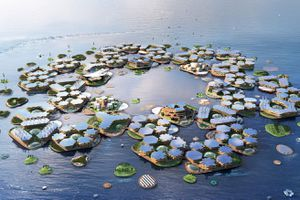 Nước biển dâng, sẽ có hàng tá thành phố nổi như phim Hollywood