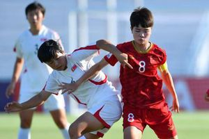 U19 nữ Việt Nam thất bại 0-3 trước CHDCND Triều Tiên