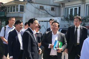Bộ trưởng Bộ TN&MT Trần Hồng Hà: Cần nghiên cứu thêm về công nghệ Nano-Bioreactor Nhật Bản với điều kiện ở Việt Nam