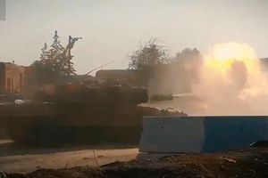 Leopard Thổ khai hỏa tại Syria sau lần bị phá hủy