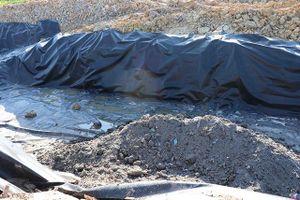 Cần xử lý nghiêm tình trạng đào, đổ chất thải tại Văn Môn