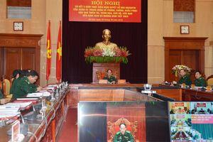 Sơ kết 5 năm thực hiện Nghị quyết của Quân ủy Trung ương về phòng, chống, khắc phục hậu quả thiên tai