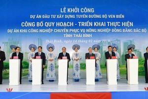 Thái Bình đẩy nhanh xây dựng đường bộ ven biển kết nối Hà Nội – Hải Phòng – Quảng Ninh