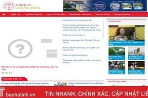 Xuất hiện website tự sản xuất tin, bài sai sự thật ở Hà Tĩnh