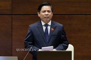 Bộ trưởng Nguyễn Văn Thể trả lời Quốc hội về hệ thống giao thông
