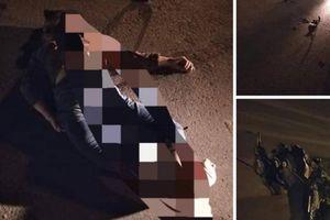 Tai nạn ở gần sân vận động Mỹ Đình trong đêm, 2 thanh niên nhập viện