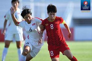 Thua Triều Tiên, U19 nữ Việt Nam vẫn còn cơ hội vào bán kết