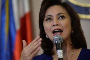 Phó Tổng thống Philippines: Trung Quốc phải công nhận chủ quyền của Manila trên Biển Đông trước khi khai thác chung