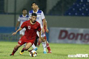 U21 Việt Nam thắng đậm 'hậu bối' của HLV Park Hang Seo