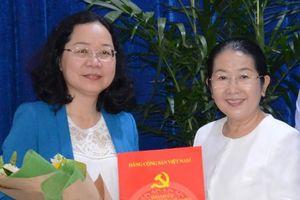 Bà Thái Thị Bích Liên làm bí thư quận 4