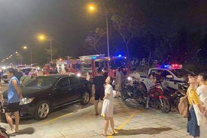 Cháy tủ điện ở chung cư The Park Residence, cư dân sơ tán trong đêm