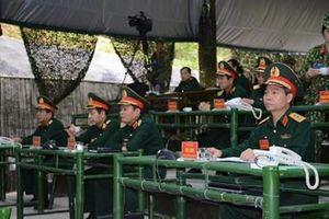 Quân đoàn 1 tổ chức diễn tập chỉ huy-tham mưu một bên 2 cấp