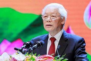 Thư chúc mừng của Tổng Bí thư, Chủ tịch nước Nguyễn Phú Trọng