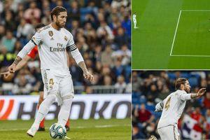Real vùi dập Leganes, Ramos cân bằng kỷ lục khủng của Messi