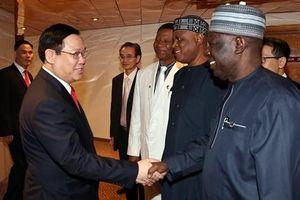 Thúc đẩy hợp tác đầu tư, thương mại và ngoại giao giữa Việt Nam và châu Phi
