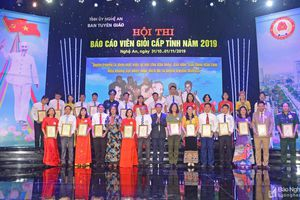 28 thí sinh tranh tài tại Hội thi Báo cáo viên giỏi tỉnh Nghệ An năm 2019