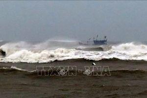 Một người mất tích và 12 người bị thương do mưa bão tại Quảng Ngãi
