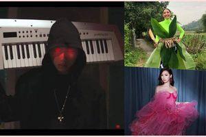 Sao Việt dịp Halloween: 'Rợn người' với K-ICM, Hoàng Thùy diện bộ cánh lá chuối 'chất lừ'