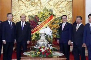 Thủ tướng chúc mừng Ban Đối ngoại Trung ương nhân 70 năm ngày truyền thống