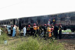 Nổ bình gas trên tàu chở khách ở Pakistan, 62 người thiệt mạng