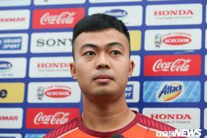 Đỗ Thanh Thịnh: Không ngại cạnh tranh với Văn Hậu, quyết vô địch SEA Games