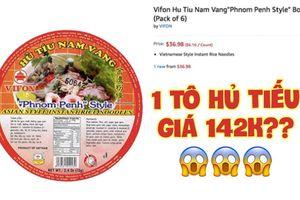 'Ngó nghía' những loại mì - miến - phở Việt đóng gói bán trên Amazon: đắt gấp 10-15 lần ở Việt Nam, còn không có mà mua