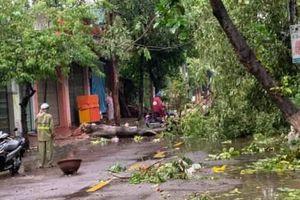 Diễn biến bão số 5 tại miền Trung