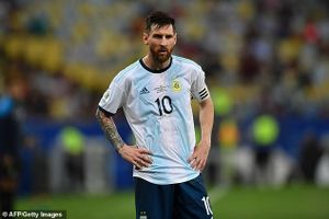 Argentina gọi Messi trở lại đội tuyển sau 3 tháng