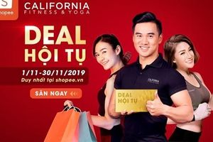 Tải Shopee – Chớp ngay cơn mưa deal 'khủng' từ California Fitness & Yoga tháng 11 này