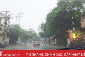 Miền Trung có khả năng tiếp tục đón bão, Hà Tĩnh lại mưa to