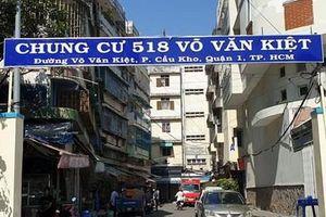 TP. Hồ Chí Minh phá dỡ khẩn cấp Lô E chung cư 518 Võ Văn Kiệt
