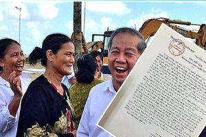 Bức thư khiến người nghèo trong cuộc di dời dân lịch sử ở Huế an lòng