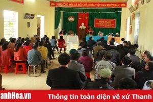 Đại biểu HĐND tỉnh tiếp xúc cử tri huyện Ngọc Lặc