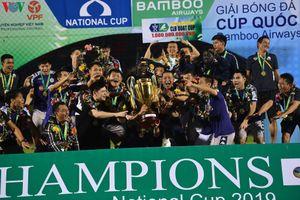 Clip: Hà Nội FC đăng quang ngôi vô địch Cúp Quốc gia 2019
