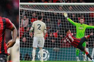 Cột dọc từ chối bàn thắng, MU thua đau trên sân Bournemouth