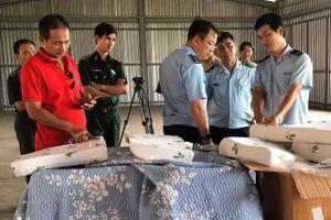Phát hiện 7 tấn hàng Trung Quốc giả xuất xứ Việt Nam ở TP.HCM