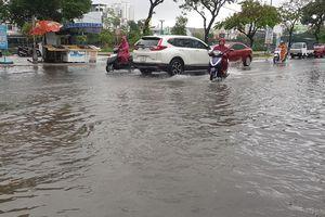 Một số tuyến đường Đà Nẵng bị ngập do mưa lớn