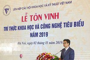 Lễ tôn vinh trí thức KH&CN 2019: Sự kiện mang ý nghĩa to lớn