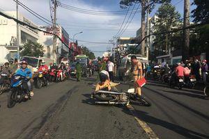 Ngã văng ra đường, Phó viện trưởng viện kiểm sát quận 9 bị tông tử vong