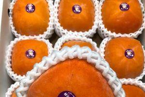 Hoa quả Nhật tiền triệu về Việt Nam vẫn đắt hàng