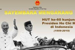 Nhiều hoạt động kỷ niệm 60 năm chuyến thăm Indonesia của Bác Hồ