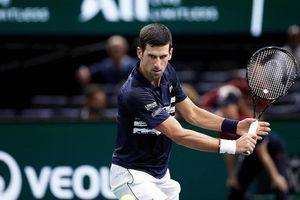 Djokovic giành vé vào bán kết Paris Masters 2019, chạm trán Dimitrov